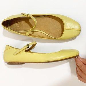 FRYE Flat Kat Mary Jane Shoes, Size 7